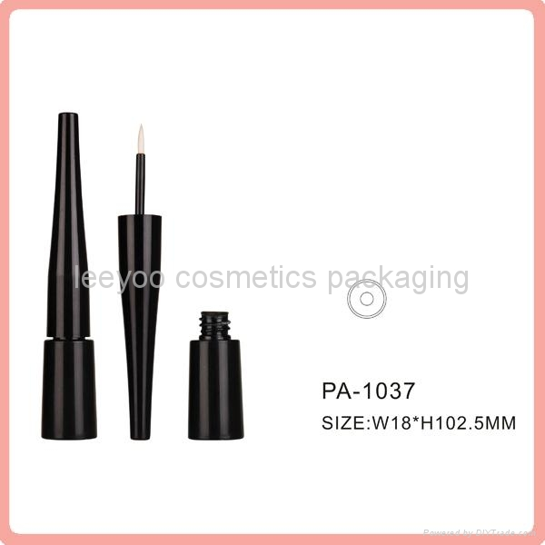 black empty liquid eyeliner bottle plastic cosmetic packaging eyeliner tube 1