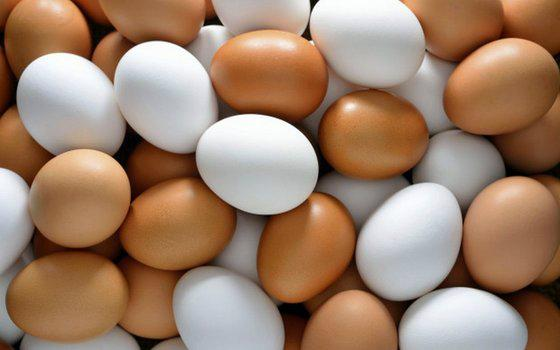 Fresh Chicken Brown & White Table Eggs 1