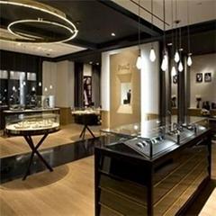 Jewelry Counter Showcase