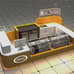 Espresso Kiosk Display