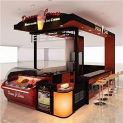 Indoor Ice Creem Kiosk