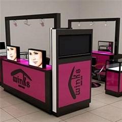 Mall Eyebrow Threading Kiosk