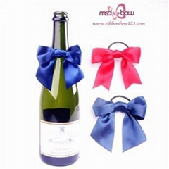 Wine Bottle Bow