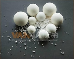 Alumina ball 92% oxide in ceramic
