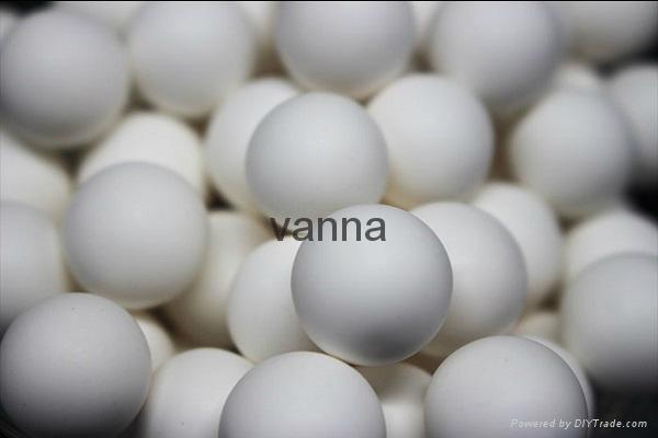Wear Resisting Alumina Ball 92% Usded in Ceramics 4