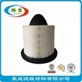 White auto air filter paper