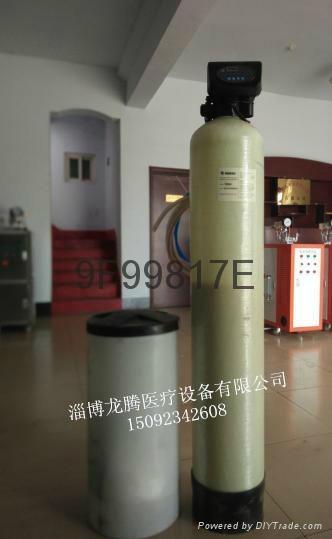 供應鍋爐專用軟化水處理設備 2