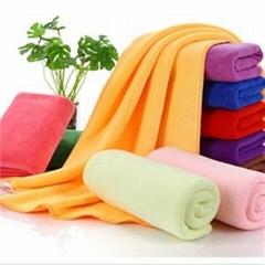 Warp Knitting Microfifber Cleanig Towel
