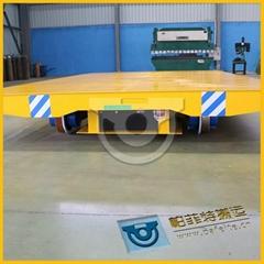 静音载重量大轨道平板小车炼焦核燃料加工