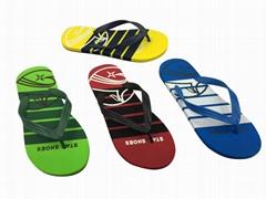 new design summer man flip flops