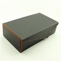 Dubble Bottle Folding Wine Box PU Leather