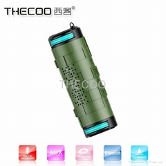 THECOO BTA610 Outdoor Waterproof Bluetooth Speaker Subwoofer