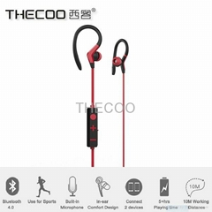 THECOO BT-E7 Bluetooth V4.0 Ear Canal Type Headphone In-ear Bluetooth Headphone