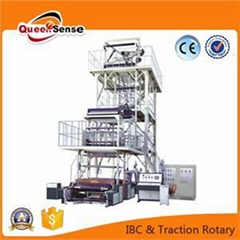 Three Layers Coextrusion Film Blowing Machine