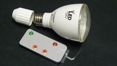 LED emergency light 4W radarinductive  rechargeable led bulb torching flashing
