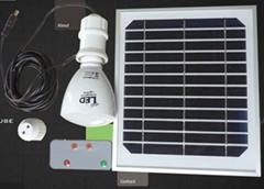 Solar energy system mini solar power generatio system for home lighting 10W