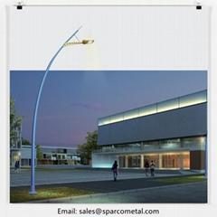 new fashion outdoor light aluminum lamp post