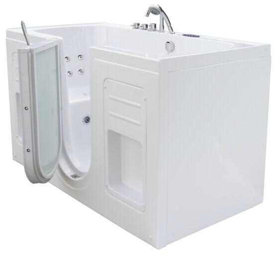 Two Seat Dual Massage Walk In Tub K102 Zink China Manufacturer Bathtub