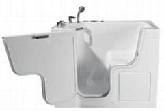 残疾人安全开门浴缸