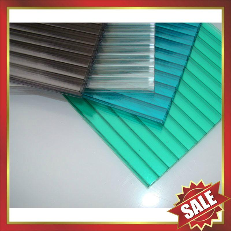 Hollow multi wall Polycarbonate pc sheet sheeting plate board panel 1