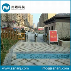 Fingerprint Access Control Bridge Swing Barrier for Outdoor Used
