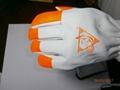 Alif® Goatskin Leather Glove with Hi-Viz