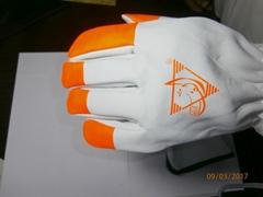 Alif® Goatskin Leather Glove with Hi-Viz Fingertips.
