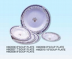 MELAMINE TABLEWARE-SOUP PLATE