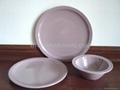 Western dinner plate set 3 pcs