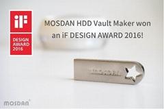 "German IF Design Award winning product ""MOSDAN HDD Vaults Maker"""