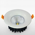 The high-end LED downlight