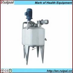 Vacuum homogeneous emulsification machine