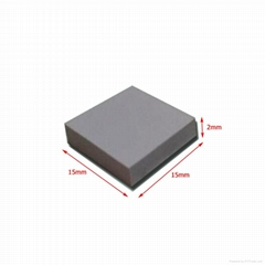 Silicone rubber thermal conductive