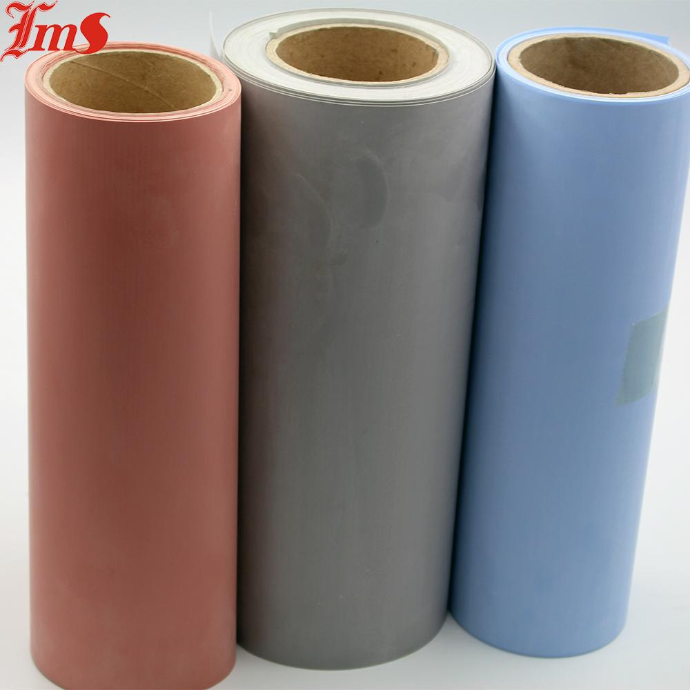 High temperature silicone rubber coated colored fireproof fiberglass cloth  1