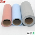 High temperature silicone rubber coated colored fireproof fiberglass cloth  4