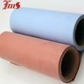 High temperature silicone rubber coated colored fireproof fiberglass cloth  3