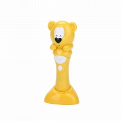 Fashion Cartoon Reading Pen Color Bear Stylish Talking Point Pen For Children