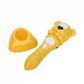 Fashion Cartoon Reading Pen Color Bear Stylish Talking Point Pen For Children 2