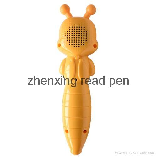 中国深圳工厂新款儿童早教益智点读机故事机幼儿点读笔 3