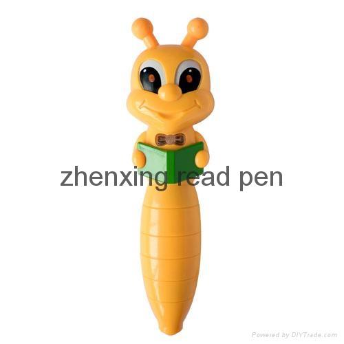 中国深圳工厂新款儿童早教益智点读机故事机幼儿点读笔 2