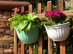 European wall hanging flower pot
