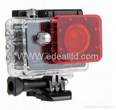 SJCAM SJ5000 Filter Lens For SJ5000+ SJ 5000 SJ5000X Camera Accessories Diving P