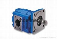 军工厂液压双联齿轮泵1DPF5.8*Z02液压泵