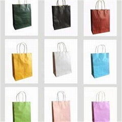 Brown Kraft Paper Bag Use Use For Shopping