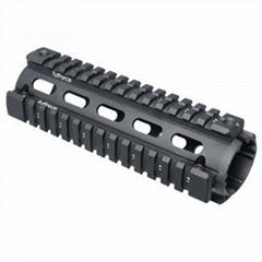 Quad Rail Hand Guard For CAR Size AR15/M4/M16.