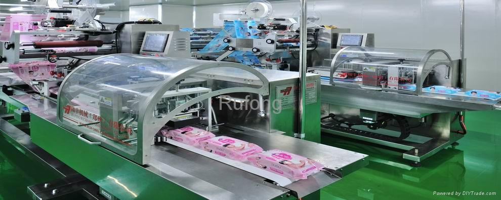 RF-BWL100(80) Baby Wet Wipes Production Line 1