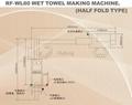 RF-WL60 Wet Towel Making Machine (Half Fold Type) 2
