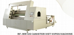 RF-WR120 Canister Wet Wipes Machine