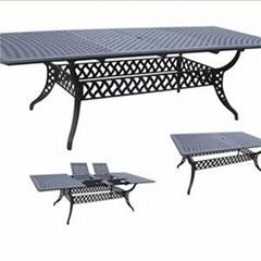 Polyrattan Rectagular Dining Table