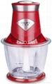 1.2L glass bowl 200W household food chopper electric meat grinder  mincer 5